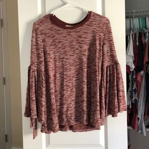 Tops - Soft Red-ish Top